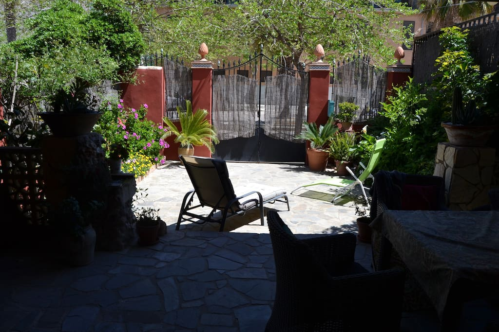 chill out, terraza, jardin