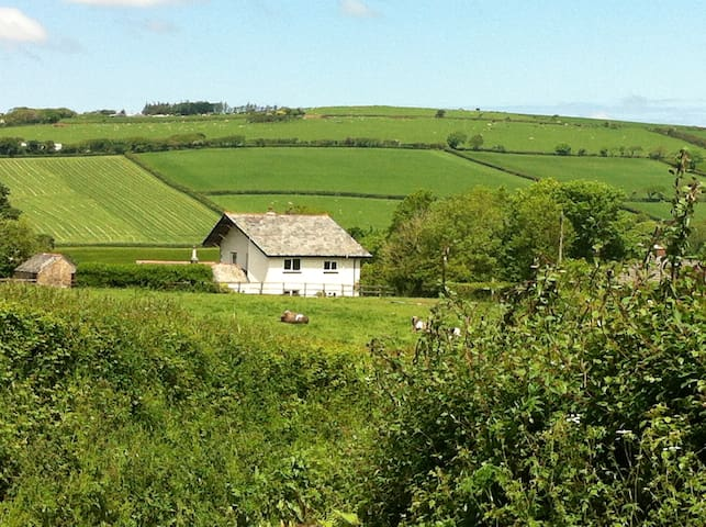 Need peace in a Cornish valley? - Saint Wenn - Rumah