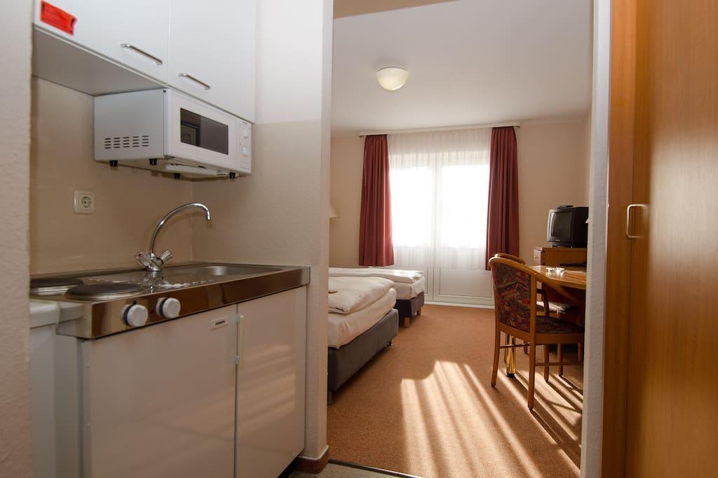 hotelzimmer in der region hannover bed breakfasts te. Black Bedroom Furniture Sets. Home Design Ideas