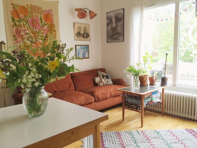Urban summer stay with garden - Tukholma - Huoneisto