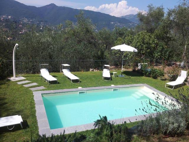 Sta Margherita Ligure 2+2 piscina