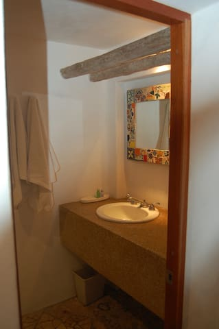 Private bathroom with shower and WC