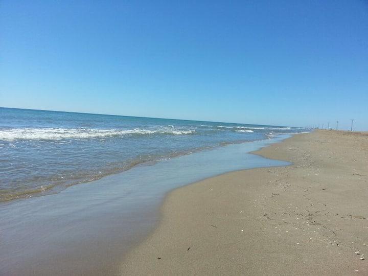 Dúplex frente playa Eucaliptus en Delta del Ebro