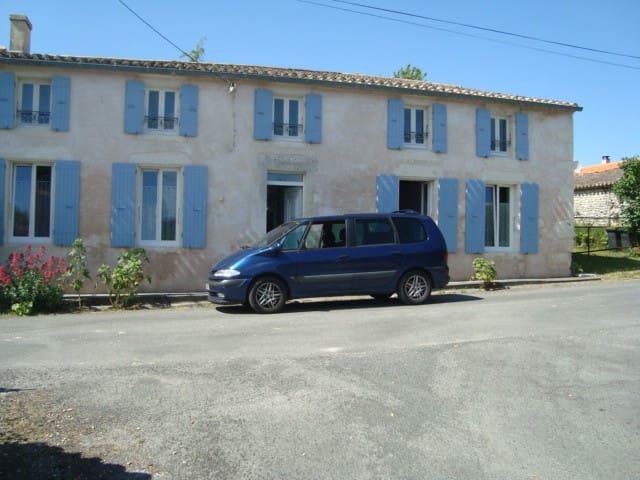 Ancienne ferme charentaise  - Semussac - Rumah