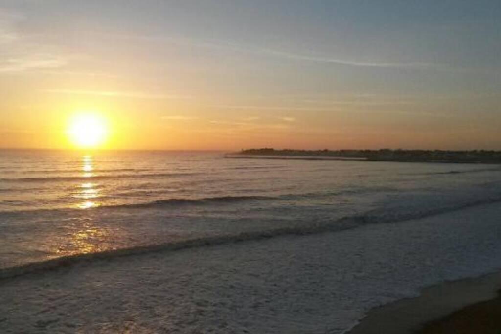 Vue sur mer - Soleil couchant