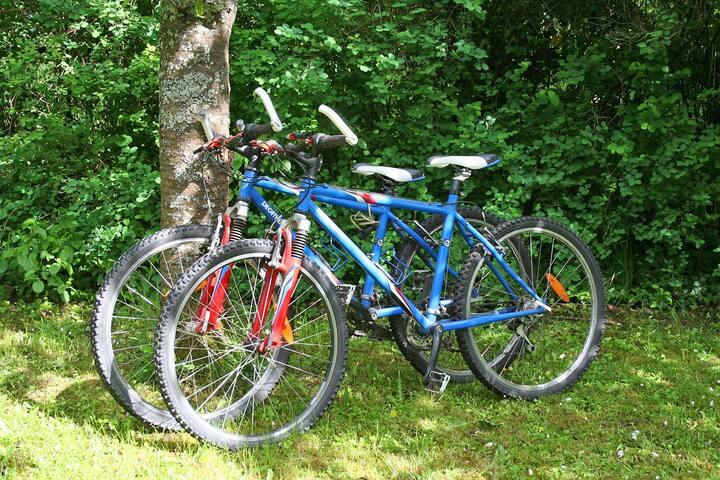 2 vélos à votre disposition.