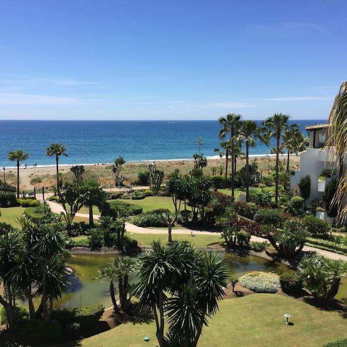 Exclusivo piso en 1 linea de playa apartamentos en for Pisos de alquiler en estepona