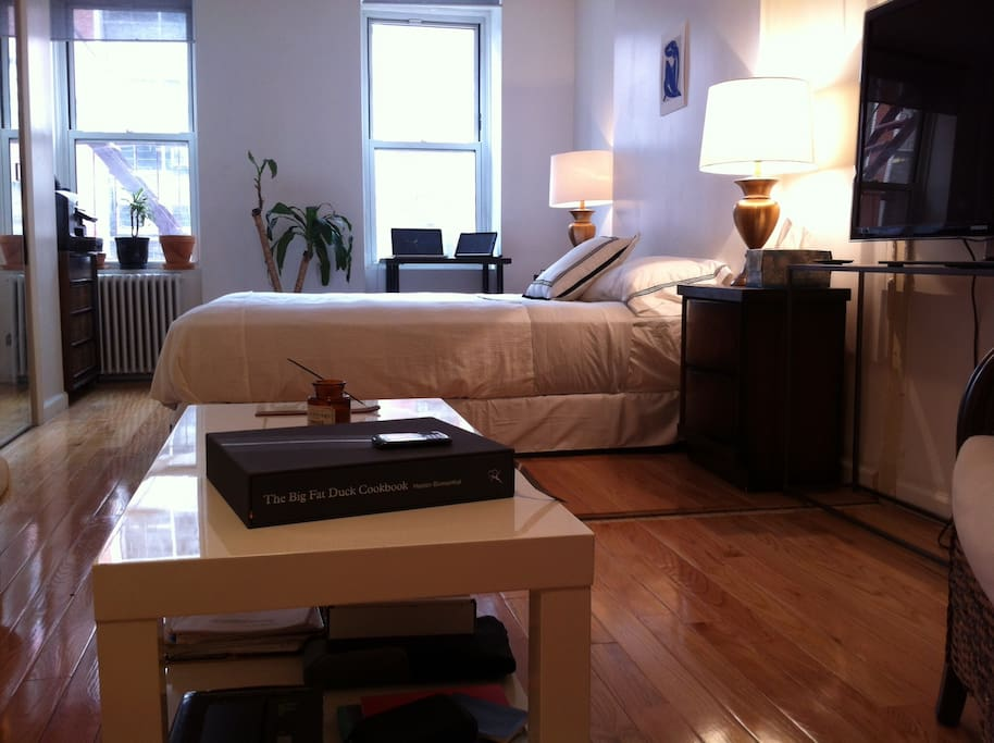 Cool and cozy manhattan studio apartments for rent in for Studio apartment in manhattan
