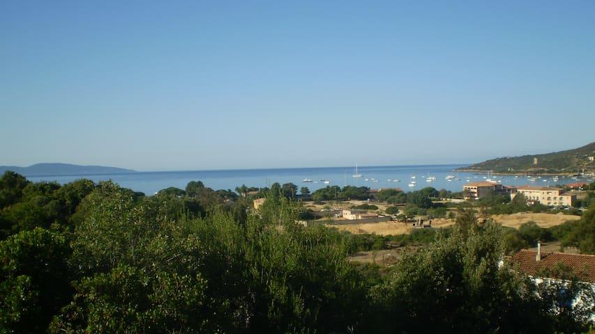 Superbe vue sur le golfe de Sagone - Coggia - Appartement