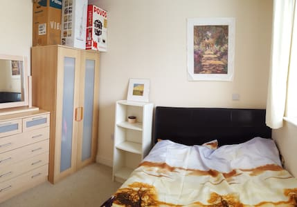Nice Cosy DBL room in City Centre - Apartment