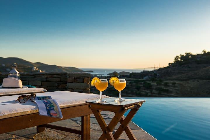 Kea Summer Villa, serene summer living in Kea/Tzia - Kea Kithnos - Vila