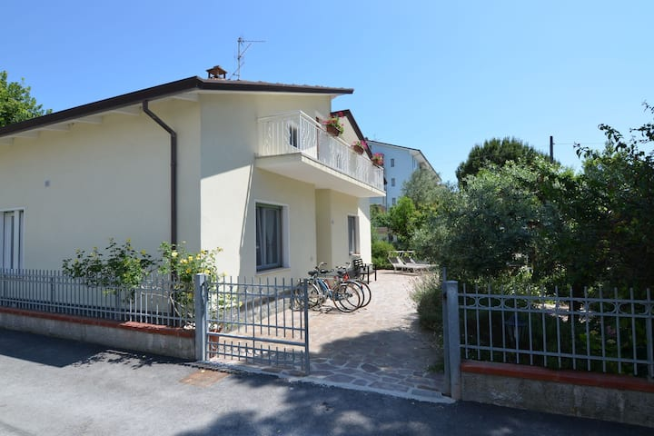 Inviting Apartment in Gatteo with Private Garden
