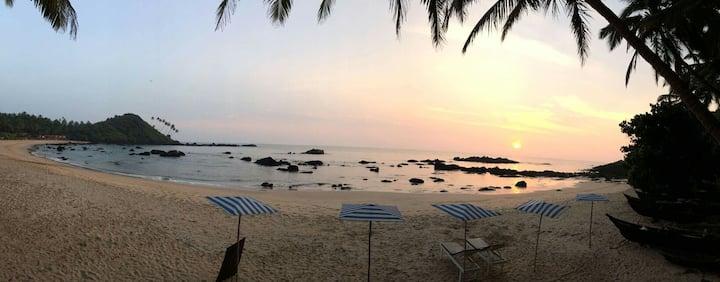 Tented Room 1 at cola Beach Goa