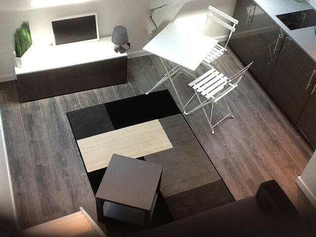 Studio hyper centre saint malo  saint servan