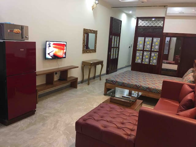 One Bed Brand New Apartment near Shaukat Khanum