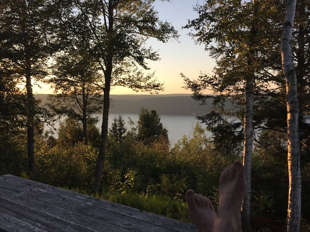 """The """"Overlook"""" at the Belleisle Bayview Retreat"""