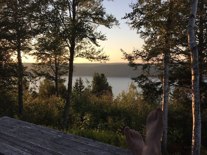 "The ""Overlook"" at the Belleisle Bayview Retreat"