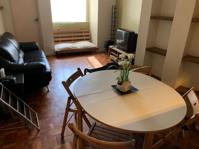 Spacious 56 sqm 1BR in Wack-Wack Mandaluyong