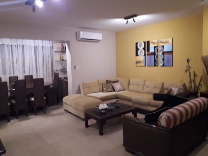 DEPARTAMENTO ENTERO en Encarnación (Full flat)