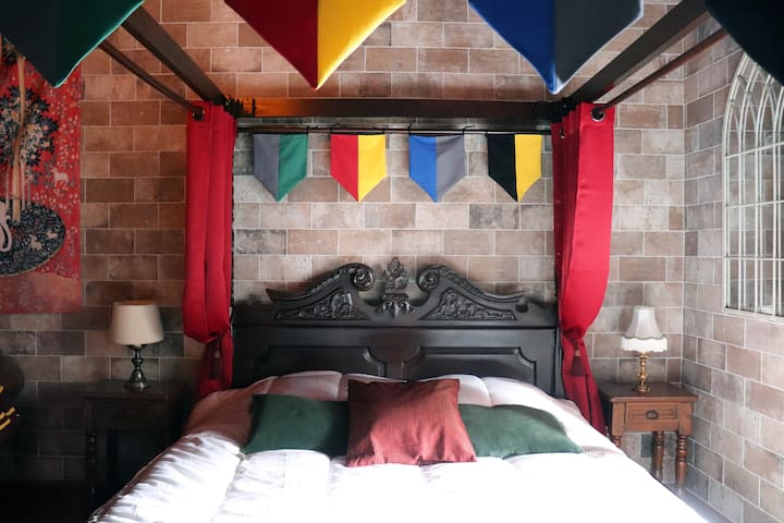 Harry Potter themed room in Colmar !