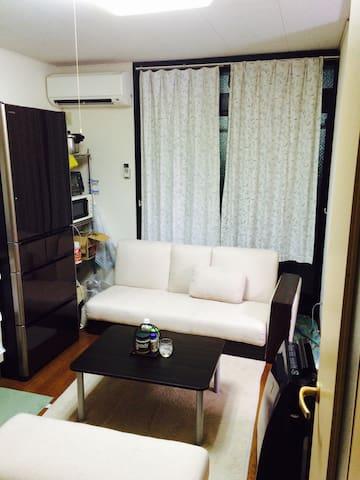2DKのシェアルームです。駐車場もあります。 - Tachikawa-shi - Apartamento