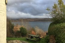 Looking across to Bute.