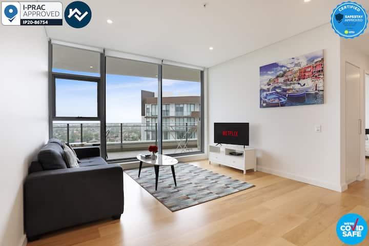 Corporate 2 BR Apartment near Macquarie Park uni