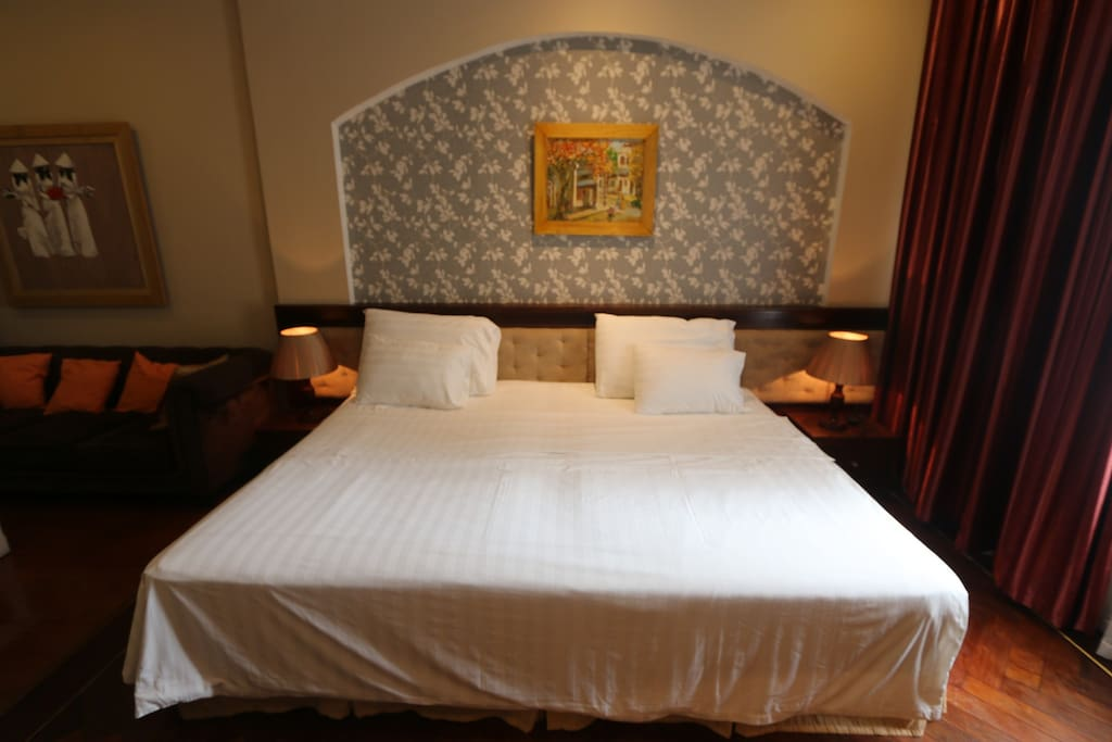 King - size bed