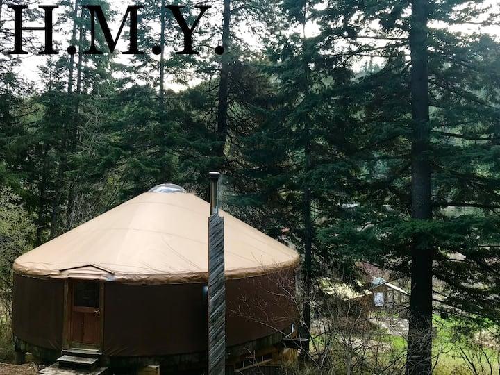 Hidden Moon Yurt