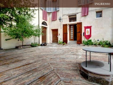 An ancient Villa in Gubbio