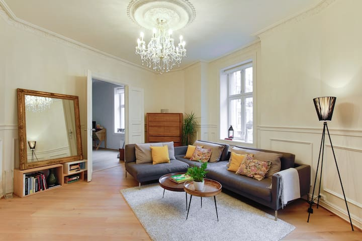 Spacious apartment by Frogner Park - Oslo - Apartment