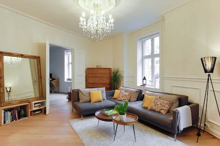 Spacious apartment by Frogner Park - Oslo