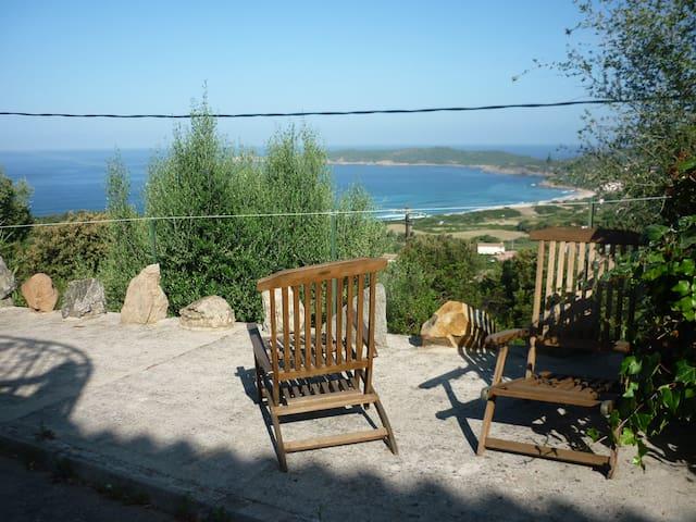 appartement bas de maison vue mer - Cargèse - Casa