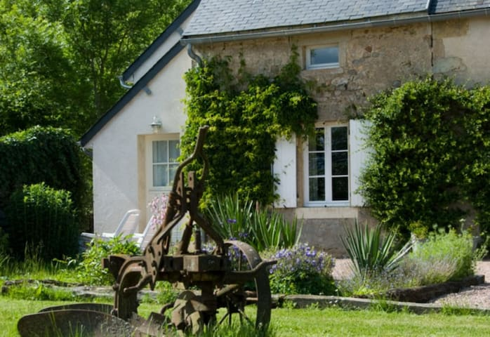 Le Laurier, cottage for naturists - Champallement - Casa