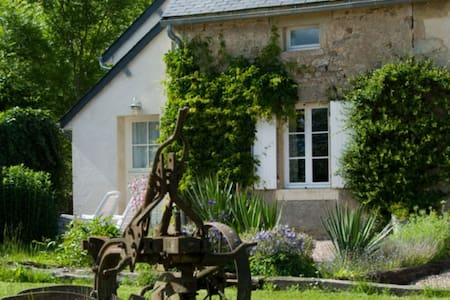 Le Laurier, cottage for naturists - Champallement - Talo