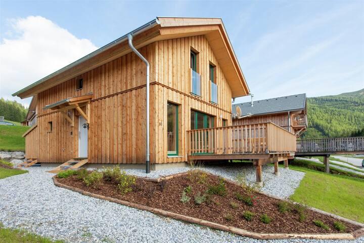 Wooden Chalet with Wellness Centre in Hohentauern