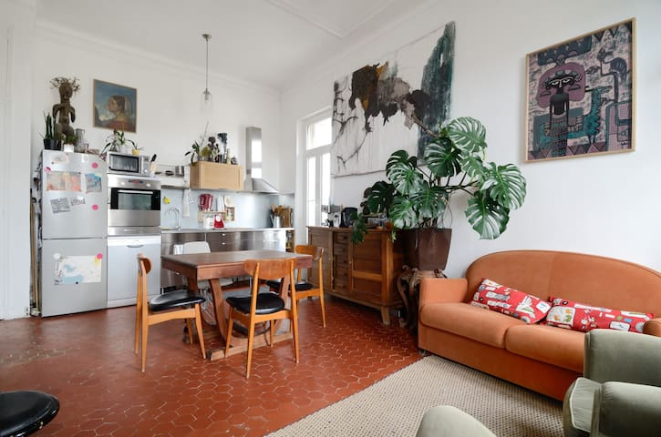 Bourgeois appartement's city heart