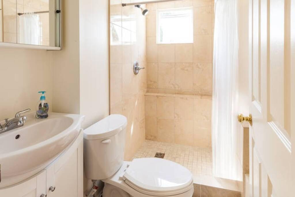 Newly renovated bath room