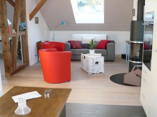 Ferienwohnung Chretzer 200m vom See - Ermatingen - Apartment