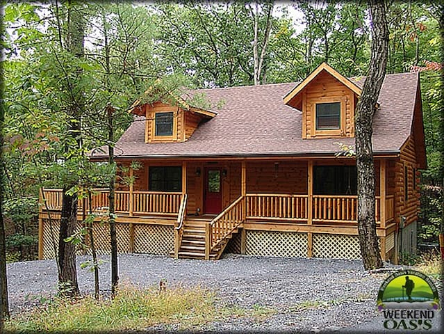 Bryce Resort Cabin - Chestnut Oak - Basye-Bryce Mountain - Casa