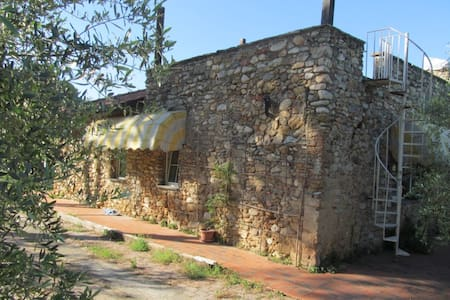 STONE house- 1BR in Olive farm - Albenga - Rumah
