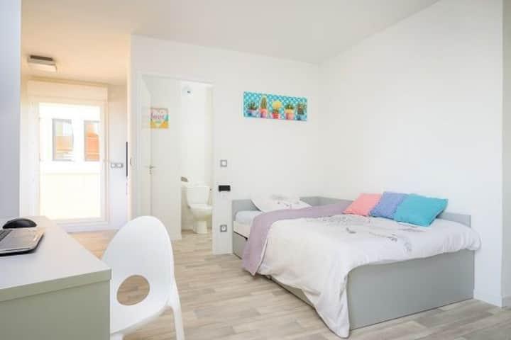 Logement confortable et spacieux 29m2