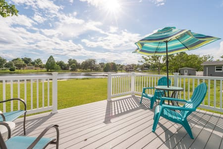 Close to everything!  Debary home with a view