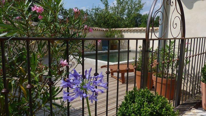 Jolie maison  plein pied.   charme et authenticité - Saint-Papoul - House
