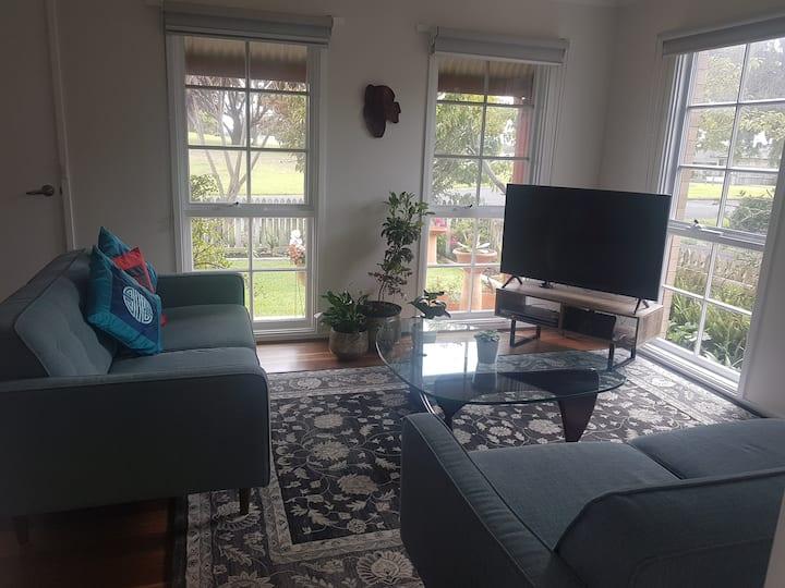 Bright, modern, light filled cottage