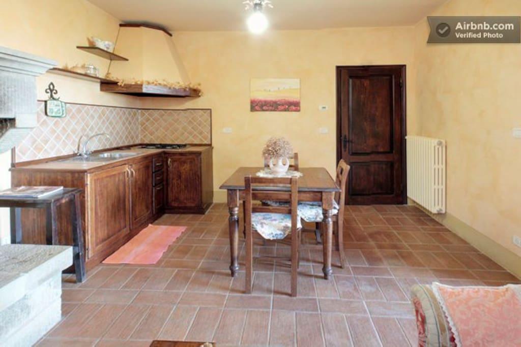 Apartment 'Ginestre' kitchen