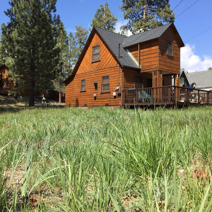 Basecamp big bear lake cabin cabins for rent in big for Big bear cabins california