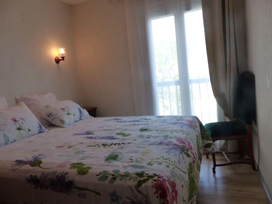 Chambre 2 lit 160