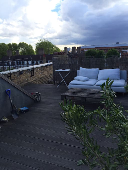 Private Terrace (direct access from the flat)