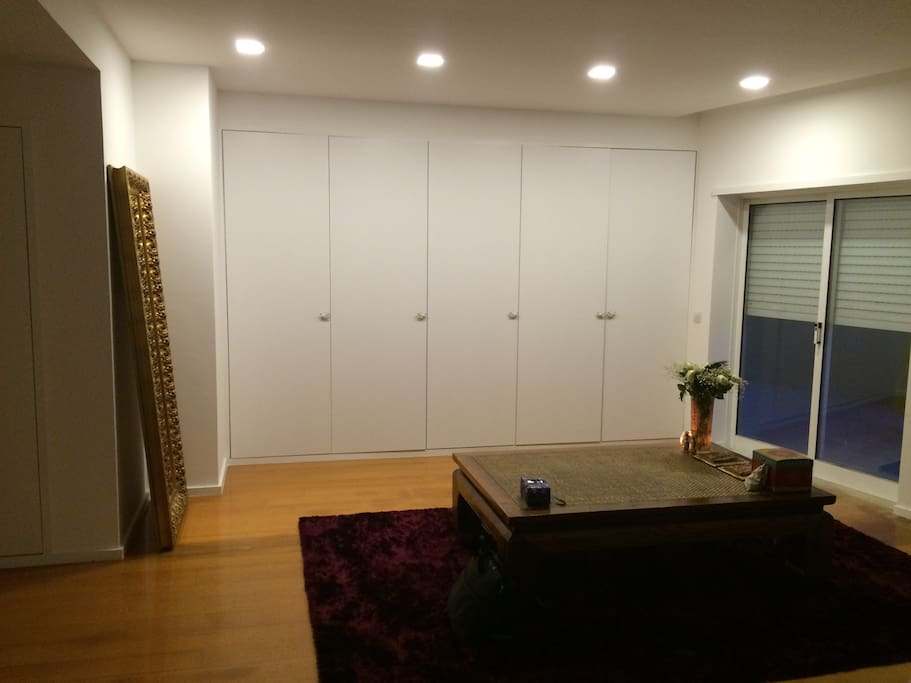 Master Bedroom Black out Screens